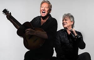 Hire Air Supply for an event.