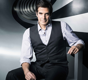 Hire David Copperfield to work your event