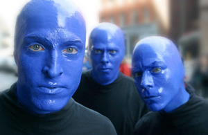 Hire Blue Man Group for an event.