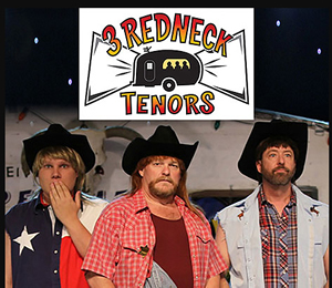 Hire 3 Redneck Tenors  for an event.