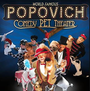 Hire Popovich Comedy Pet Theater for an event.