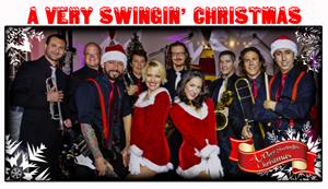 Hire A Very Swingin' Christmas for an event.
