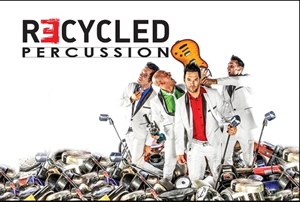 Hire Recycled Percussion for an event.