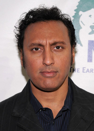 Hire Aasif Mandvi for an event.