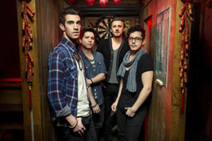 Hire American Authors for an event.
