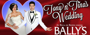 Hire Tony and Tina's Wedding for an event.