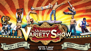 Hire V-The Ultimate Variety Show to work your event