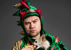 Hire Piff the Magic Dragon to work your event