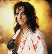 Hire Alice Cooper for an event.